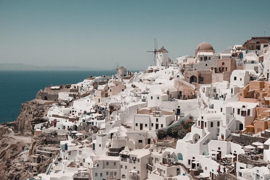Oia, Città Bianche in Europa