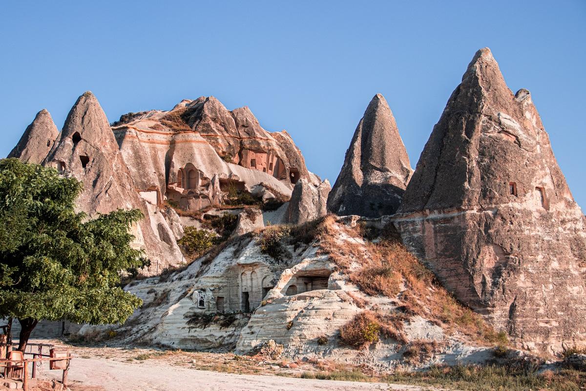 Abitazioni rupestri in Cappadocia