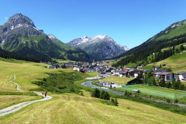 Gli anelli alpini di Lech am Arlberg