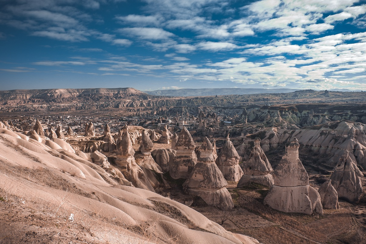 Love Valley in Cappadocia